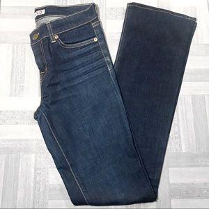 J Brand Straight Leg Dark Wash Jeans Size 27